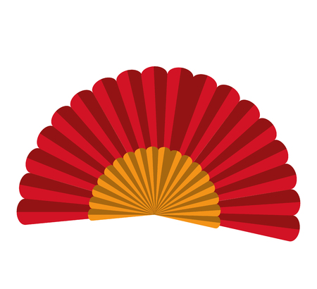 spanish fan: spanish fan isolated icon design, vector illustration  graphic