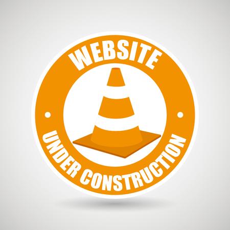 site: web site construction tool vector illustration graphic Illustration