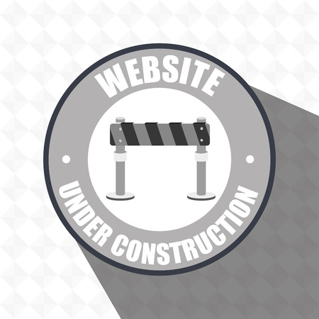 web site: web site construction tool vector illustration graphic Illustration