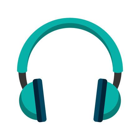 audio icon: headset speaker audio icon vector illustration design Illustration