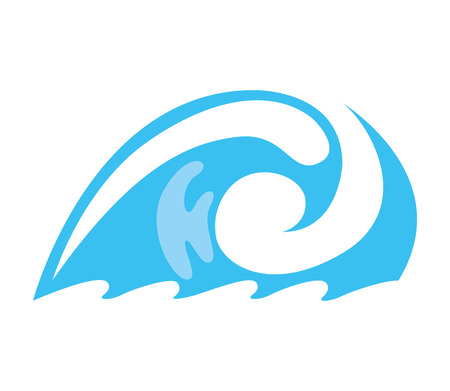 water drops splash icon vector illustration design