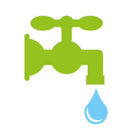 plumb: water drop isolated icon vector illustration design