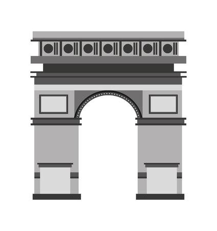 localization: spain portal building icon vector illustration design Illustration