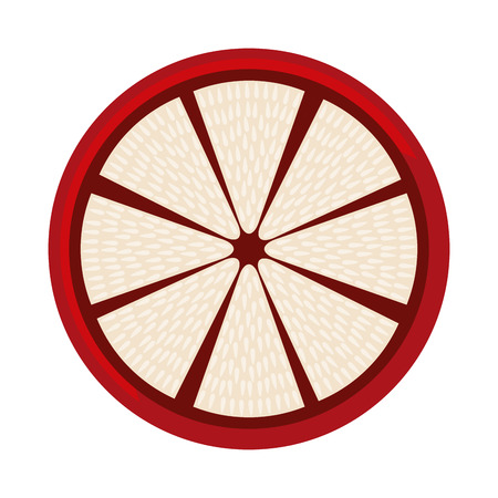 guava fruit: guava fresh fruit icon graphic isolated vector