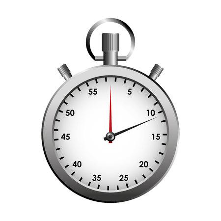 chronometer: timer counter chronometer icon vector illustration design Illustration