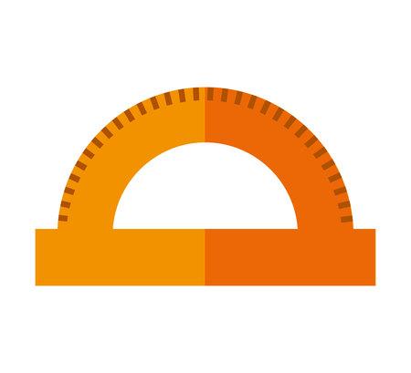 rule: rule school supply icon vector illustration design Illustration