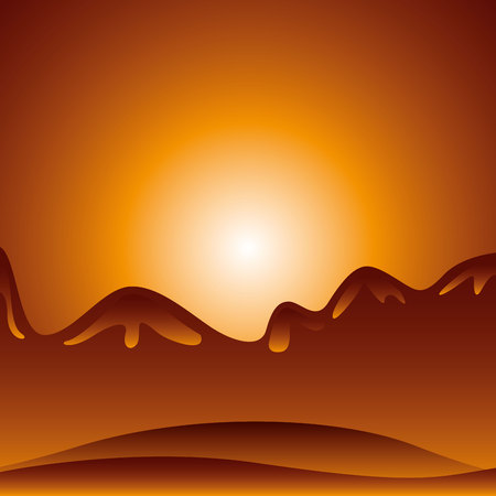 desert landscape: desert landscape background icon vector illustration design
