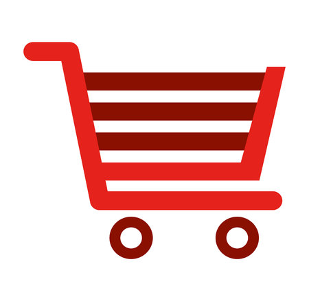 building trade: cart shopping store icon vector illustration design Illustration