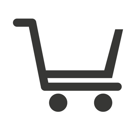 general store: cart shopping store icon vector illustration design Illustration