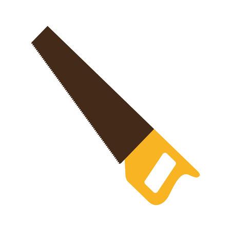 handsaw service tool icon vector illustration design