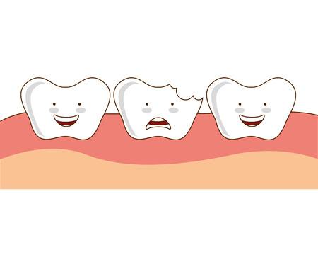 ortodoncia: aislado de la salud dental de ortodoncia icono de gr�ficos vectoriales Vectores