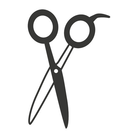 hairdressing: hairdressing equipment isolated icon vector illustration design