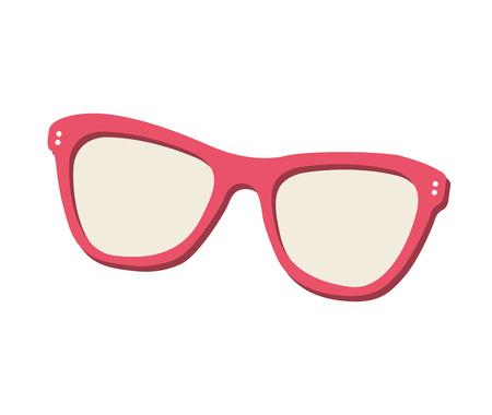 eyewear: sunglasses eyewear isolated icon vector illustration design Illustration