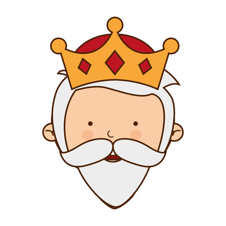 wise man: wise man character icon vector illustration graphic