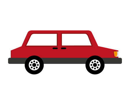 car silhouette parking icon vector illustration design