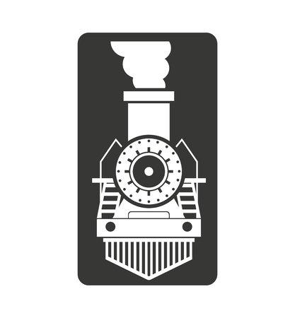 high speed rail: train transport public isolated icon vector illustration design