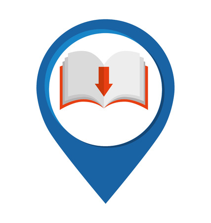 e magazine: electronic book online icon vector illustration graphic Illustration