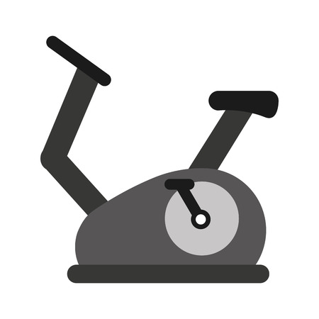 spinning: spinning fitness machine icon graphic isolated vector