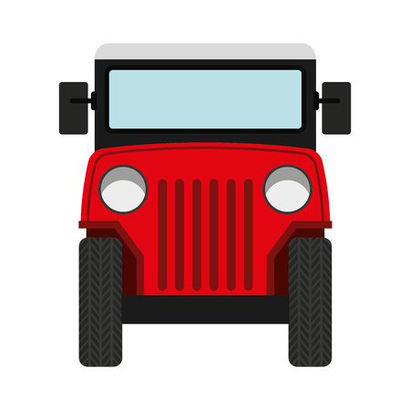 colombian: colombian coffee car vector illustration design