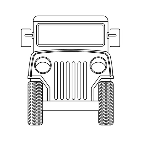 cafe colombiano: colombiano coche de caf� ilustraci�n vectorial de dise�o