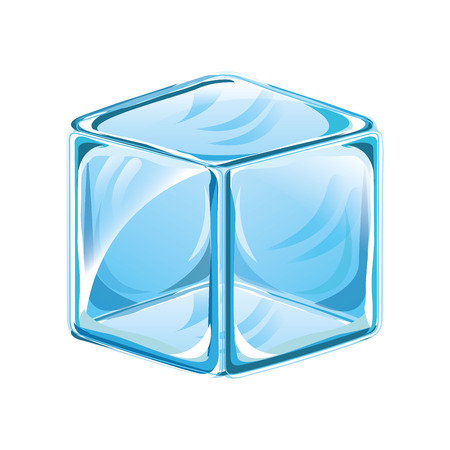 ice cube isolated icon vector illustration design