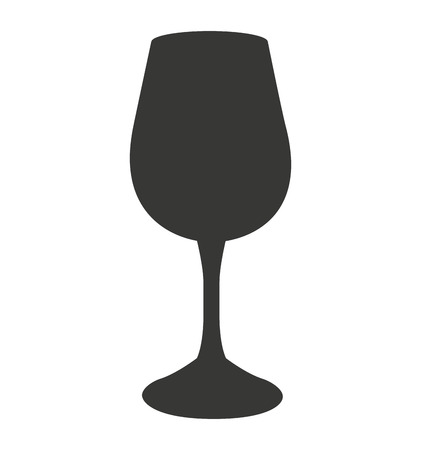 champagne cups: cocktail glass isolated icon vector illustration design Illustration