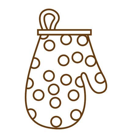 rag: kitchen rag isolated icon vector illustration graphic