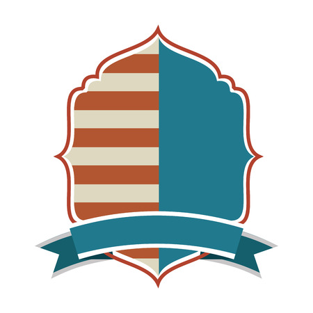 commemorate: shield america united states vector isolated graphic