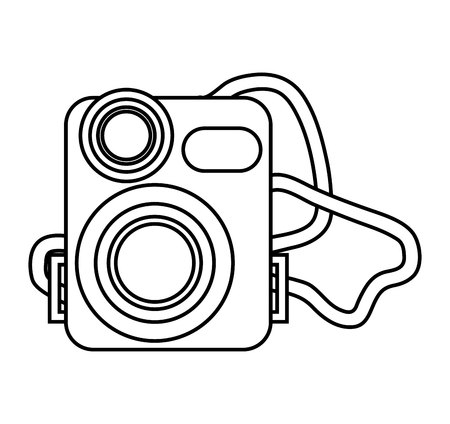 video camera film handy icon vector illustration design Illustration
