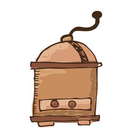 coffee toaster isolated icon vector illustration graphic Illustration