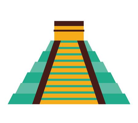 maya mexican culture icon vector illustration icon