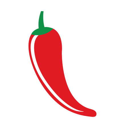 chili pepper vegetable icon vector illustration icon