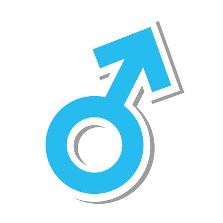 male symbol: man male symbol silhpuette icon vector illustration icon