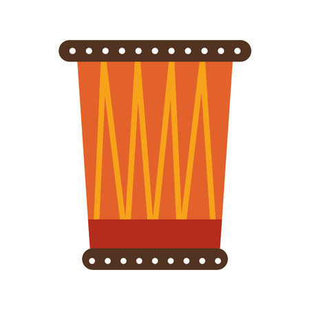 djembe: african drum isolated icon vector illustration design