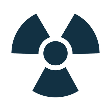 plutonium: nuclear symbol isolated icon vector illustration design Illustration
