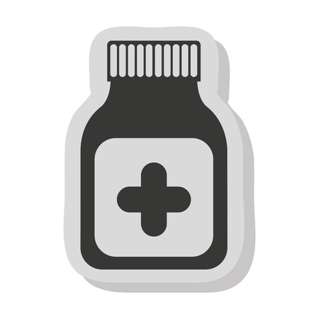 bootle: bootle drugs isolated icon vector illustration graphic Illustration