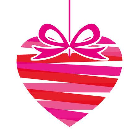 heart red love icon vector illustration design