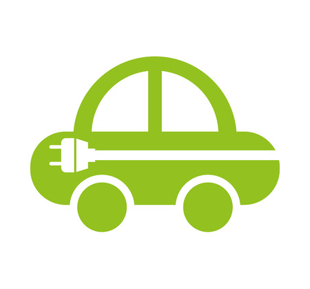 car isolated: car ecology isolated icon vector illustration design
