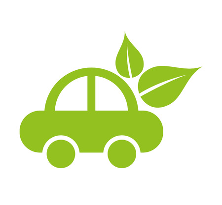 car ecology isolated icon vector illustration design