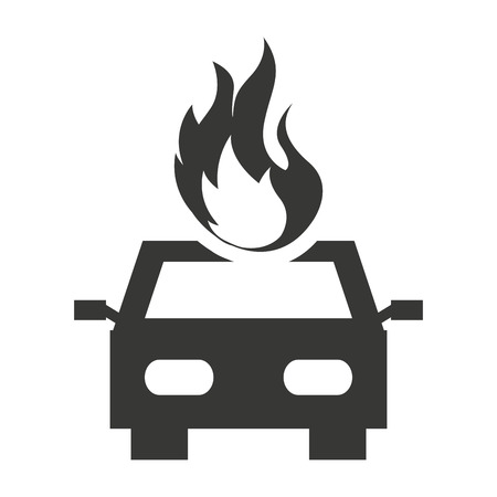 car isolated: car insurance isolated icon vector illustration design