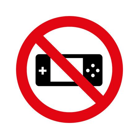 prohibido: denied circle red prohibited icon vector illustration design