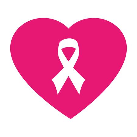 símbolo de paz del corazón, diseño icónico plana