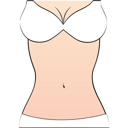 a thong: woman figure body slim icon vector illustration graphic Illustration