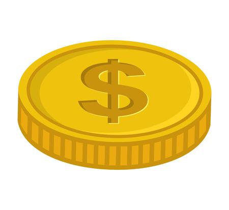 cash money: money cash coins icon vector illustration design