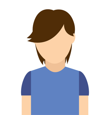 man male avatar young icon vector isolated graphic