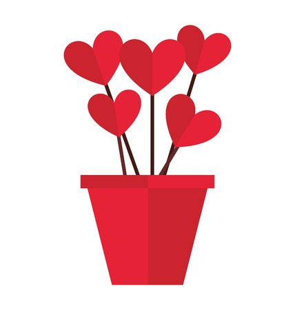 heart love red icon graphic isolated vector