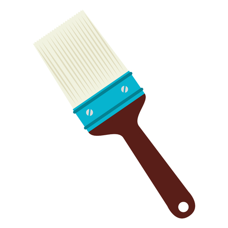 paint tool: paint tool equipment, isolated flat icon design Illustration