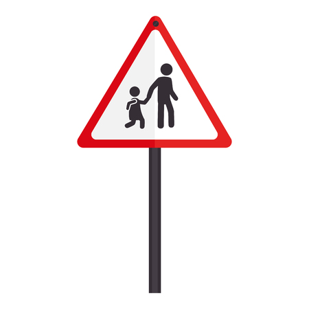 transit: signboard transit sign, isolated flat icon design