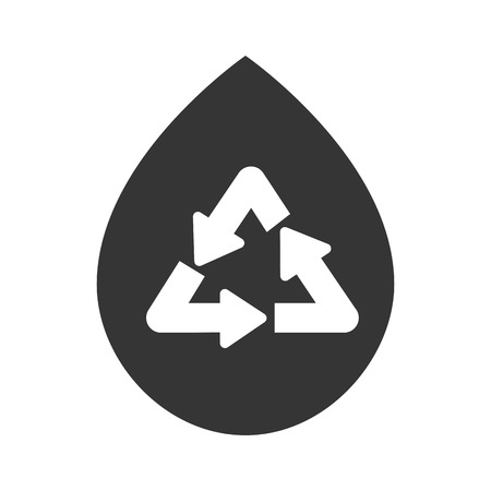 cleaning planet: recycle reduce reuse, isolated flat icon design