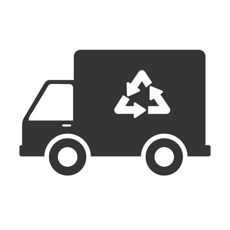 reduce: recycle reduce reuse, isolated flat icon design